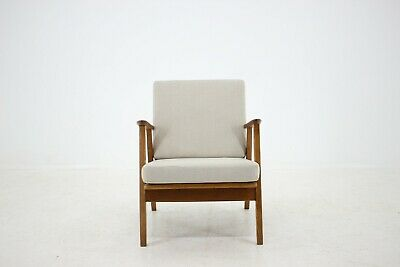 60er TEAK EICHE DANISH STUHL SESSEL 60s EASY CHAIR MIDCENTURY VINTAGE DESIGN