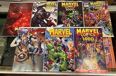 Marvel Comics #1000 - 7 Cover Set Nm Dell'otto 1St Print  Campbell