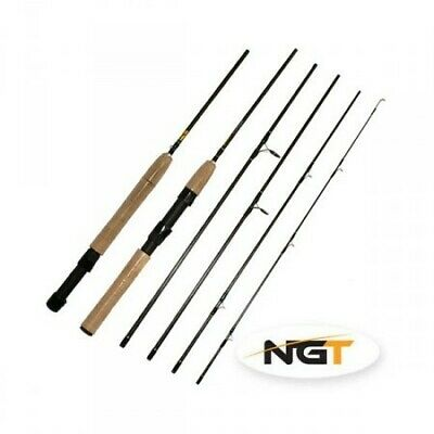 Caña Convertible Spinning-Mosca NGT Fly Spin 1000