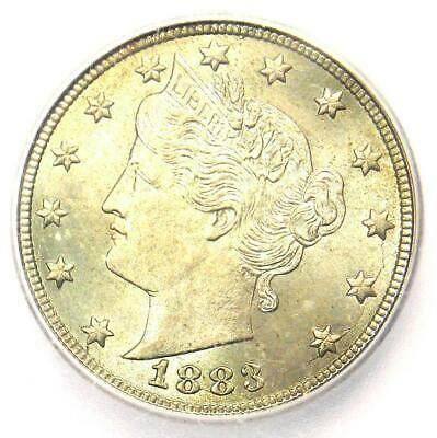 1883 Liberty Nickel 5C (No Cents Variety) - Certified ICG MS67 - $1,850 Value