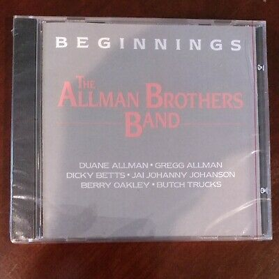 The Allman Brothers Band ‎Beginnings 1986 CD BRAND NEW, SEALED Polydor ‎BMG Edt