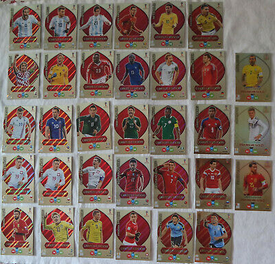 2018 FIFA World Cup Russia Adrenalyn XL, Panini: cards Limited Edition a scelta