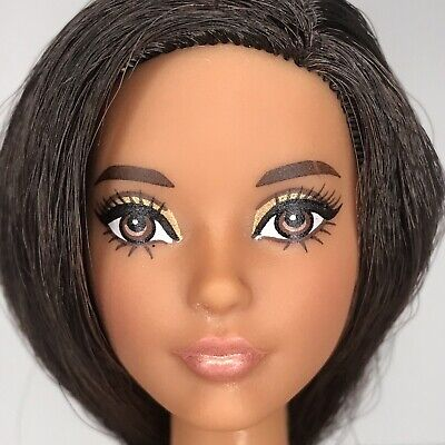 Used 2016 The Barbie Look Pool Chic Doll Nude Karl Face Sculpt Articulate As Is