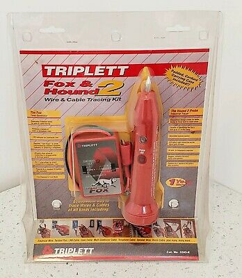 Triplett - Fox 7 Hound 2 Wire & Cable Tracking Kit