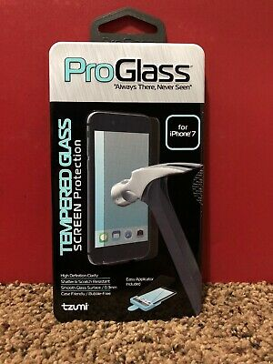 ProGlass Tempered Glass Screen Protector For iPhone 7-Brand New-Ships In 24