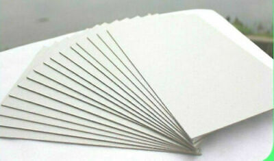 100 Sheets A6 300gsm White Cardstock
