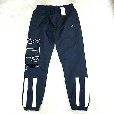 Staple Pigeon Playoff Sweatpants 1911B5917 Black Brand New Withtags