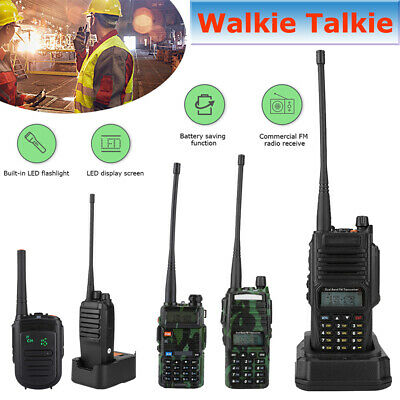 Baofeng UV-9R Plus 128CH Walkie Talkie UHF VHF Dual Band Two Way Ham Radio DY