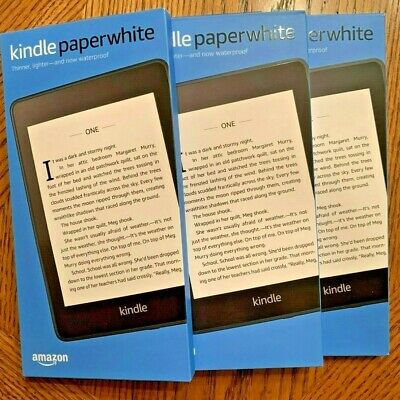 【New&Sealed】Amazon Kindle Paperwhite eReader(2018 Edition)|32GB|Waterproof