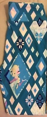 LuLaRoe Disney Frozen Elsa Tween Kids leggings