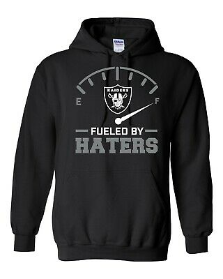 Raiders Fueled By Haters Hoodie Oakland Los Angeles football FREE SHIPPING