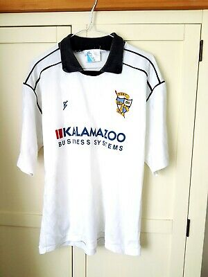 Port Vale Home Shirt 1989. Medium White Adults Short Sleeves Football Top Only M