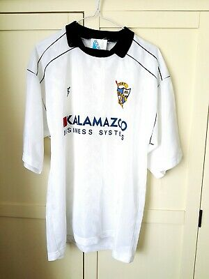 Port Vale Home Shirt 1989. Large. White Adults Short Sleeves Football Top Only L