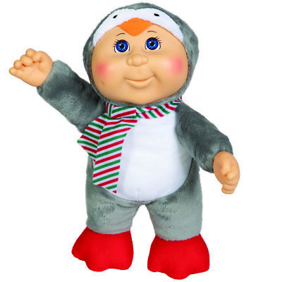 "Cabbage Patch Kids Cuties Doll: 9"" Holiday Helper Collection - Jasper Penguin"