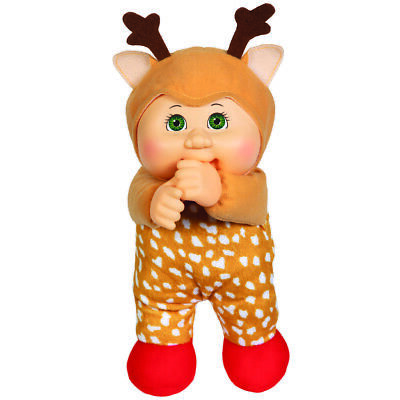 "Cabbage Patch Kids Cuties Doll: 9"" Holiday Helper Collection - Jingle Reindeer"