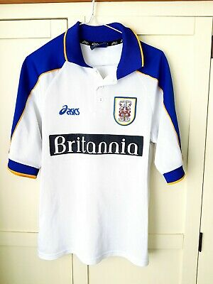 Stoke City Away Shirt 1998. Small Adults White Short Sleeves Football Top Only S