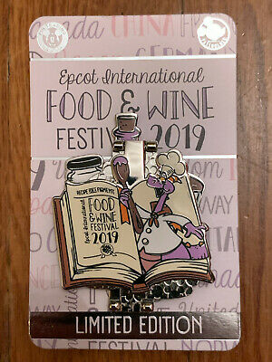 Disney EPCOT International Food & Wine Festival 2019 Figment Limited E Pin 3000