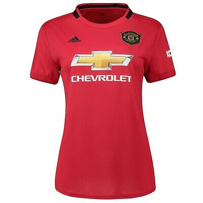 F36 Womens Large Manchester United Home Shirt 2019- 20 New PL Badge