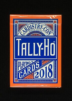 Tally Ho Cardistry Con 2018 Playing Cards by USPCC New Sealed MINT Condition