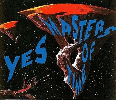 Yes Masters Of Time 1992 Live In Japan Very Rare Germany Silver Rarities 3Cd