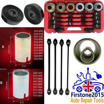26pcs Universal Press And Pull Sleeve Kit Bush Bearing Removal Installation Set