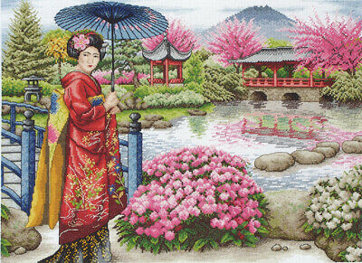Anchor ~ Maia ~ Counted Cross Stitch Kit ~ The Japanese Garden ~ 56780001024