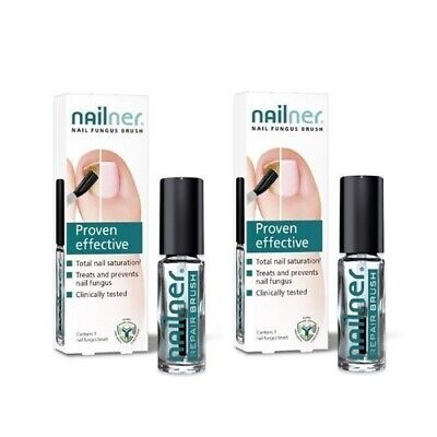 Pack of 2x Nailner Repair Brush (Treats & Prevents Fungal Nail Infection) 2x 5ml