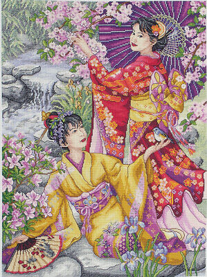 Anchor ~ Maia ~ Counted Cross Stitch Kit ~ Geishas ~ 56780001025