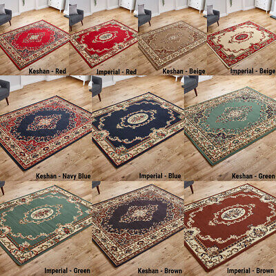 Small Large Imperial Quality Classic Traditional Area Rugs Runners At Low Price