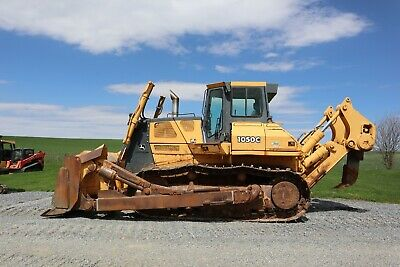 "2004 Deere 1050C Crawler Dozer, Heat, A/C, Single Shank Ripper, 13'6"" Blade,"