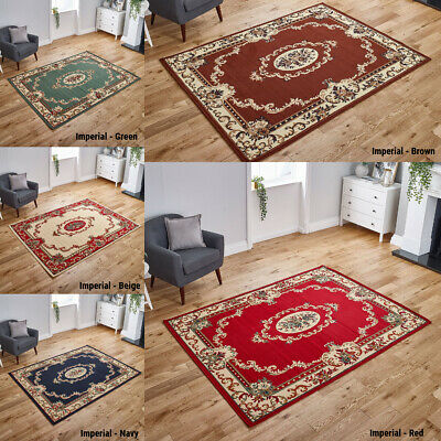 New Traditional Area Rugs Small - Extra Large High Quality Runners Low Cost Sale