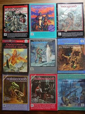 Various Merp Module for Selection ( Mers, Merp , Rolemaster, I. . C.E Lotr