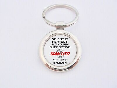Perfect Supporting Man Utd Manchester United Key Fob Bottle Opener Keyring Badge