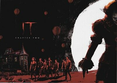 Official IT Chapter Two Odeon Poster A4 1 Of 2 Film Stephen King 2019