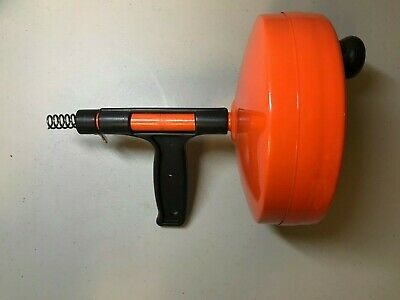 Used General Pipe Cleaners C 25SM Spin Thru Drain Auger with 1/4-Inch by 25-Feet
