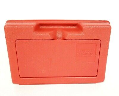 Vintage Lego Storage Case Container Box Flip Top