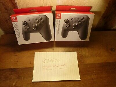 Nintendo Switch Pro Controller Black Brand New Boxed