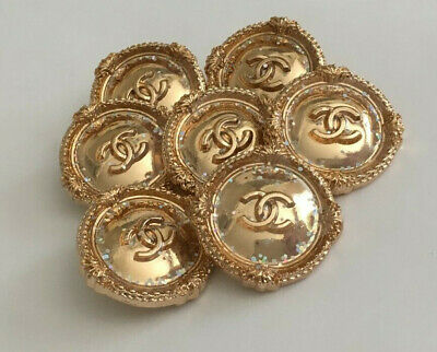Chanel buttons Large size, set of 7