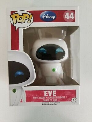 Flawed Box Funko Pop Wall-E DISNEY EVE #44 Vinyl Figure VAULTED RETIRED RARE NEW