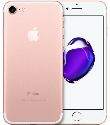 Apple iPhone 7 - 32GB - Rose Gold (Cricket) A1778 (GSM)