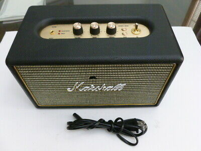 USED Marshall Acton Bluetooth Wireless Speaker - Black