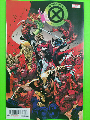 House Of X #4 First Print Marvel 2019