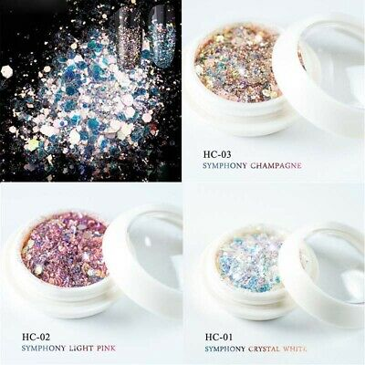Flakes 3D Glitter Mixed Charms Broken Dust Nail Sequins Powder Decor Art