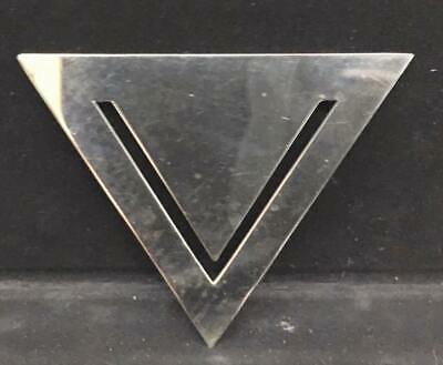 Vintage Tiffany & Co. Sterling *triangle * RARE bookmark
