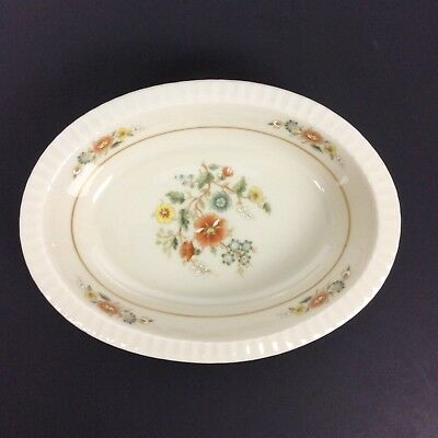 Lenox Temple Blossom Oval Casserole Vegetable Dish Bowl Fine China Discontinued
