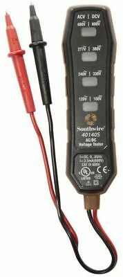 Southwire Analog 120-480-Volt 4-Way Voltage Tester Southwire Detector Meter