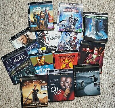 Slipcovers ONLY (No Discs) - From Blu-ray, 4K & DVD - READ DESCRIPTION