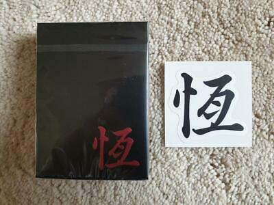 Oriental Playing Cards Rare Limited Black Red Cardistry Deck not Bicycle