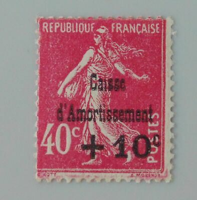 France 1930 266 neuf luxe ** caisse d'amortissement semeuse
