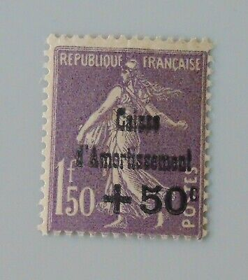 France 1930 268 neuf luxe ** caisse d'amortissement semeuse